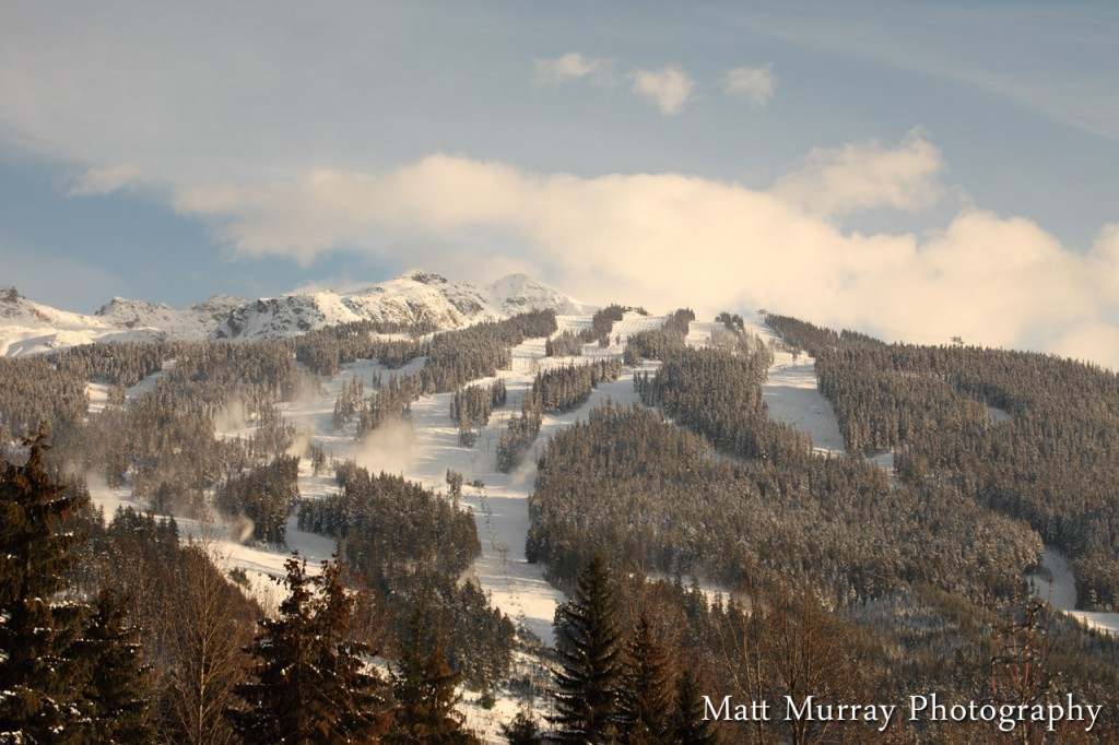 Scenic Winter Whistler Photography