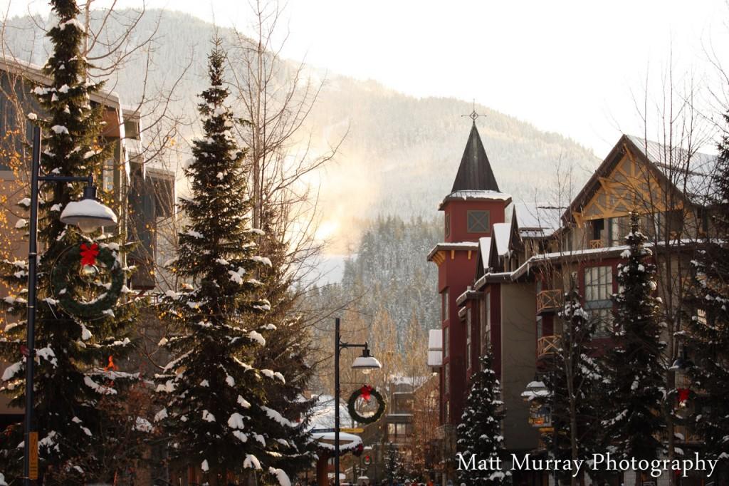 Whistler Village Scenic Photos