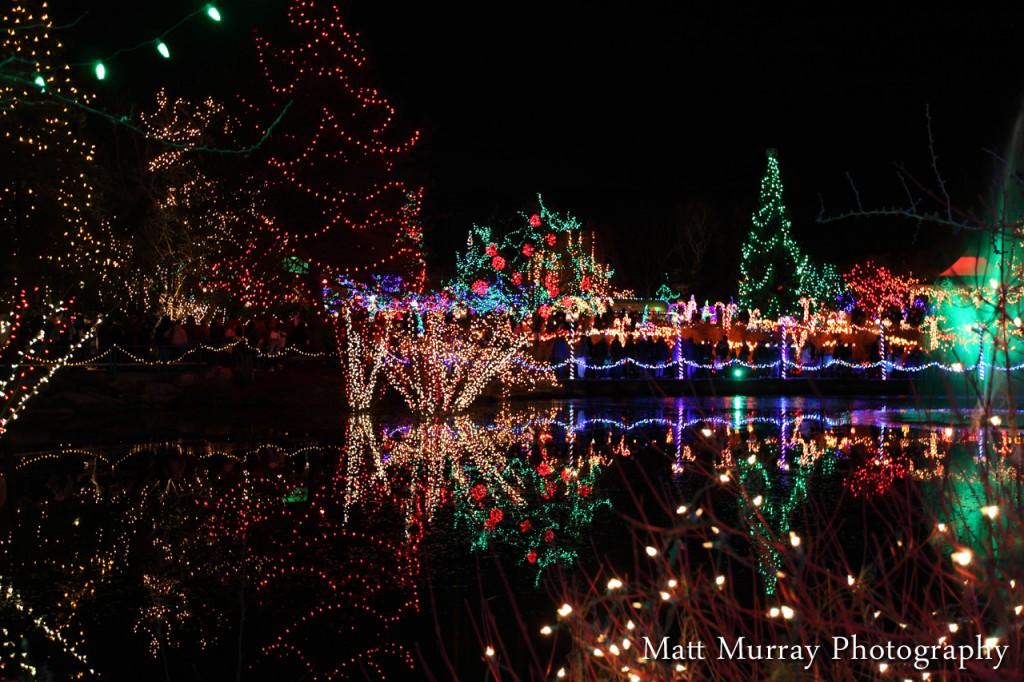 Festival Of Lights VanDusen Gardens