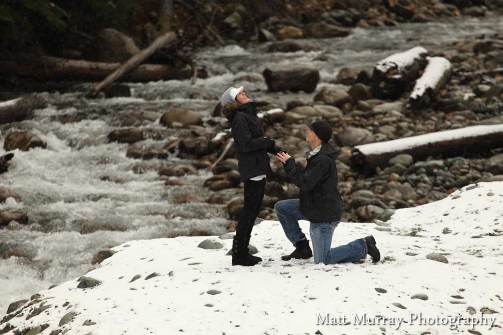 Secret Engagement Proposal Photography