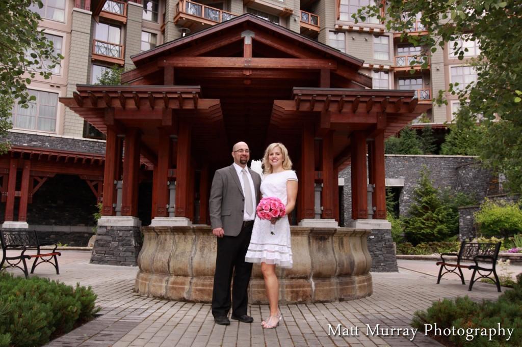 Whistler Four Seasons Hotel Wedding