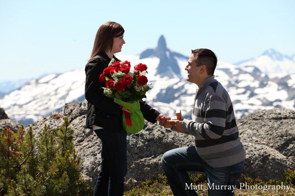 Whistler Mountain Engagement Proposal