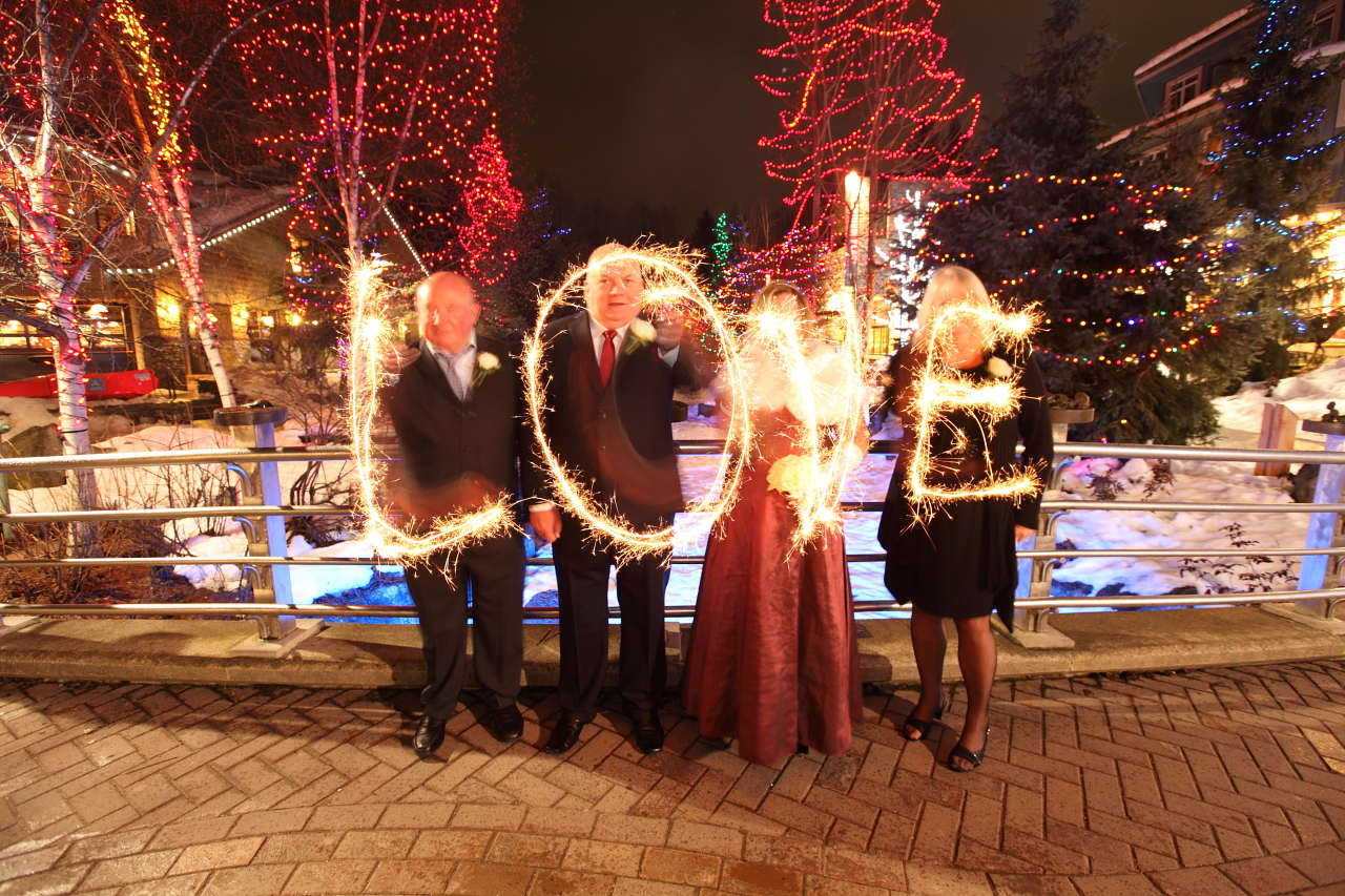 Winter Wedding In Whistler Village