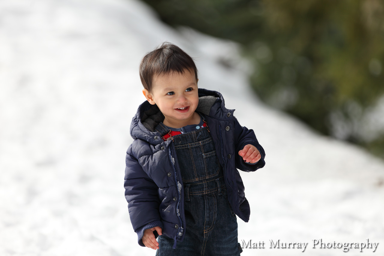 Winter Whistler Baby Portrait
