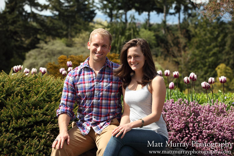 Queen Elizabeth Park Engagement Photography