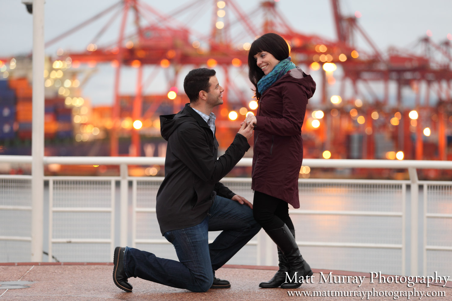 Vancouver Engagement Photography Service