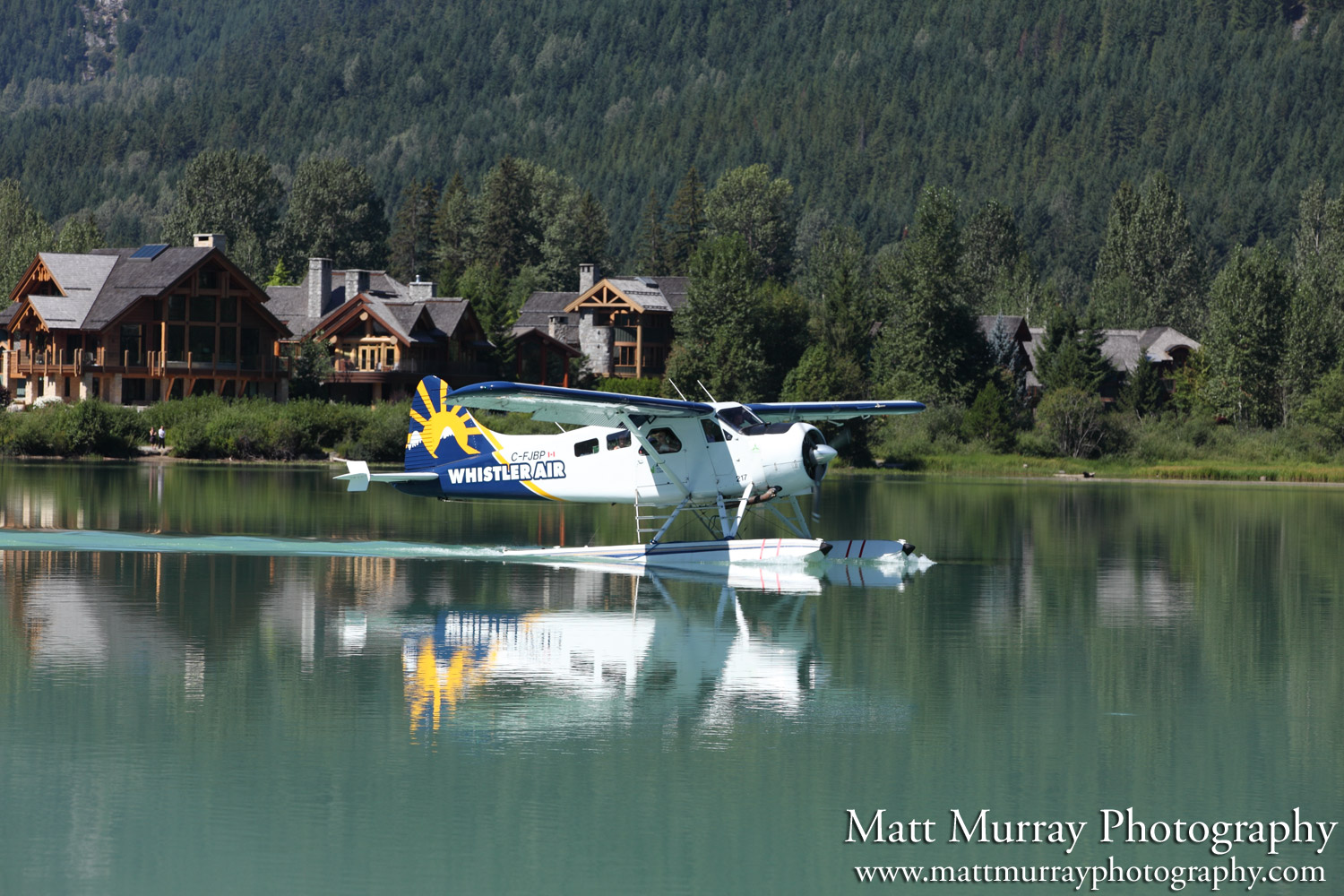 Floatplane Whistler Green Lake Summer