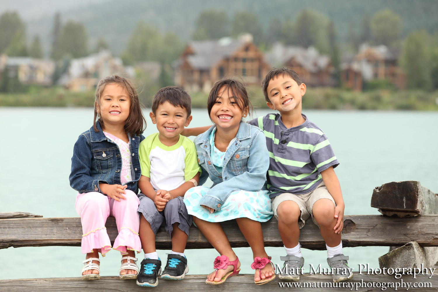 Family Portrait Photography Service Whistler BC Canada